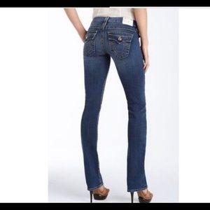 True Religion Disco Betty Big T Jeans 25 Boot